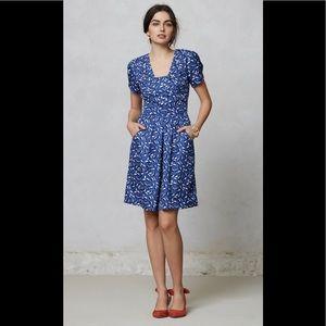 Hi There Karen Walker Blueprint Bloom Floral Dress